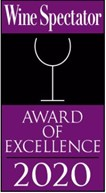 Wine Spectator Award of Excellence 2020