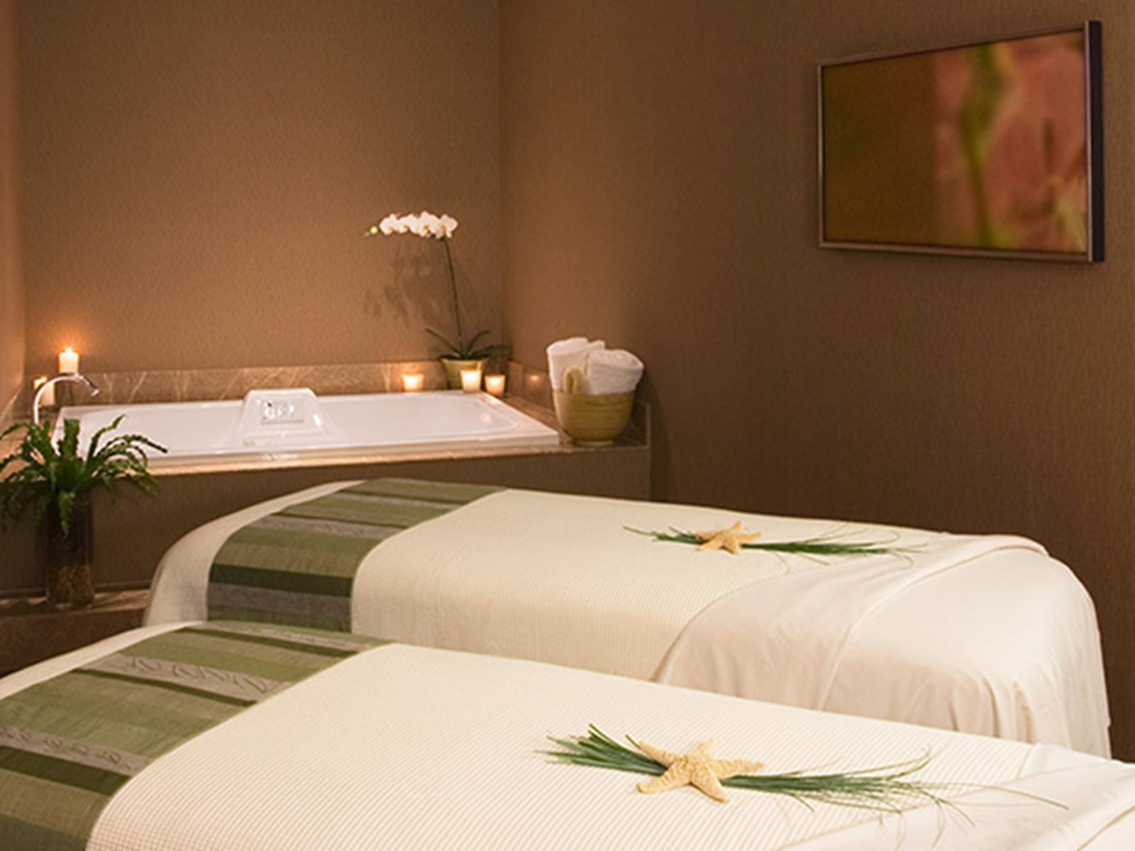 Couples Spa Therapy Room