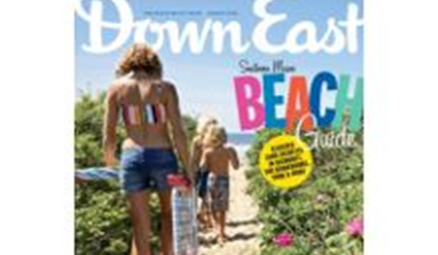 DownEast Magazine Beach Guide Cover